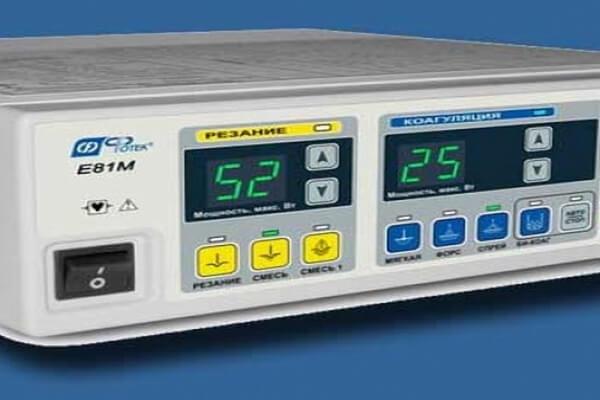Радиоволновой электрохирургический аппарат ЭХВЧ-350-03 ФОТЕК
